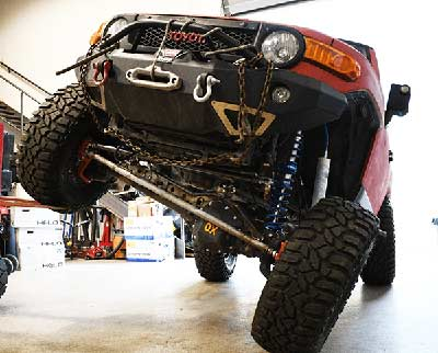 Custom Fabrication at Rock Solid 4x4